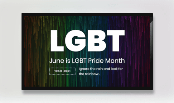 Campaign LGBT Pride Month