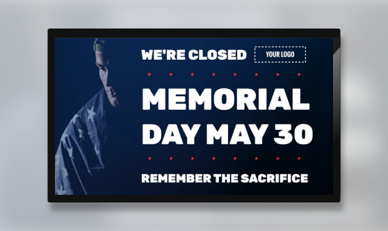 Holiday Memorial Day