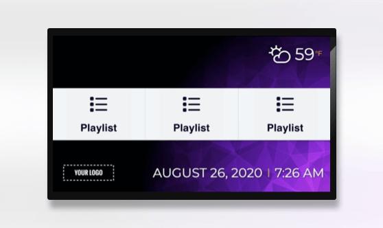 Zoned Playlist 3x1 Presentation