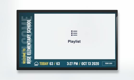 Zoned Minimal Playlist Welcome
