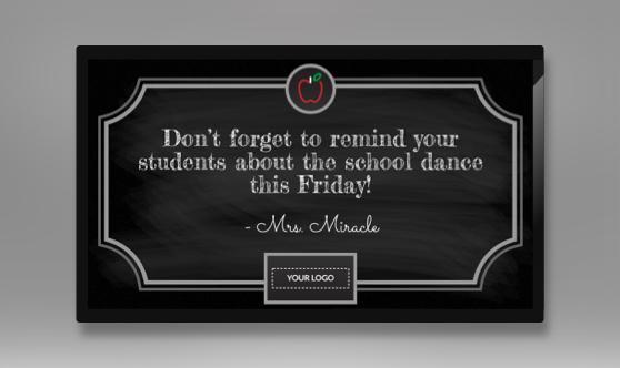 Teacher Lounge Chalkboard