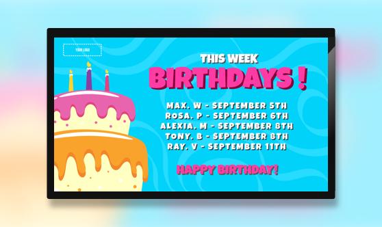 Birthdays Class List
