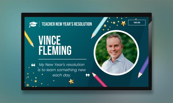 New Year's Teacher Resolution