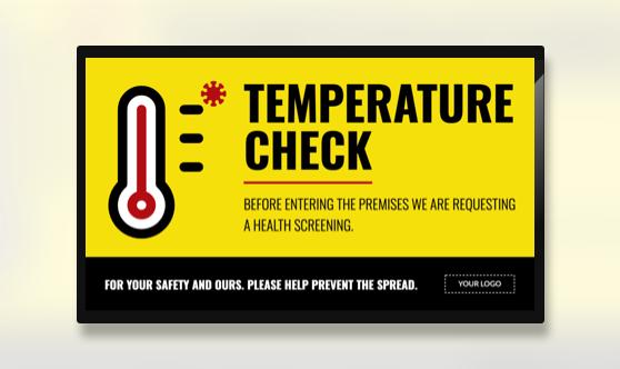 Campaign Covid-19 Temperature Check