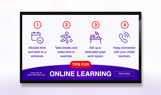 Campaign Learning From Home Tips