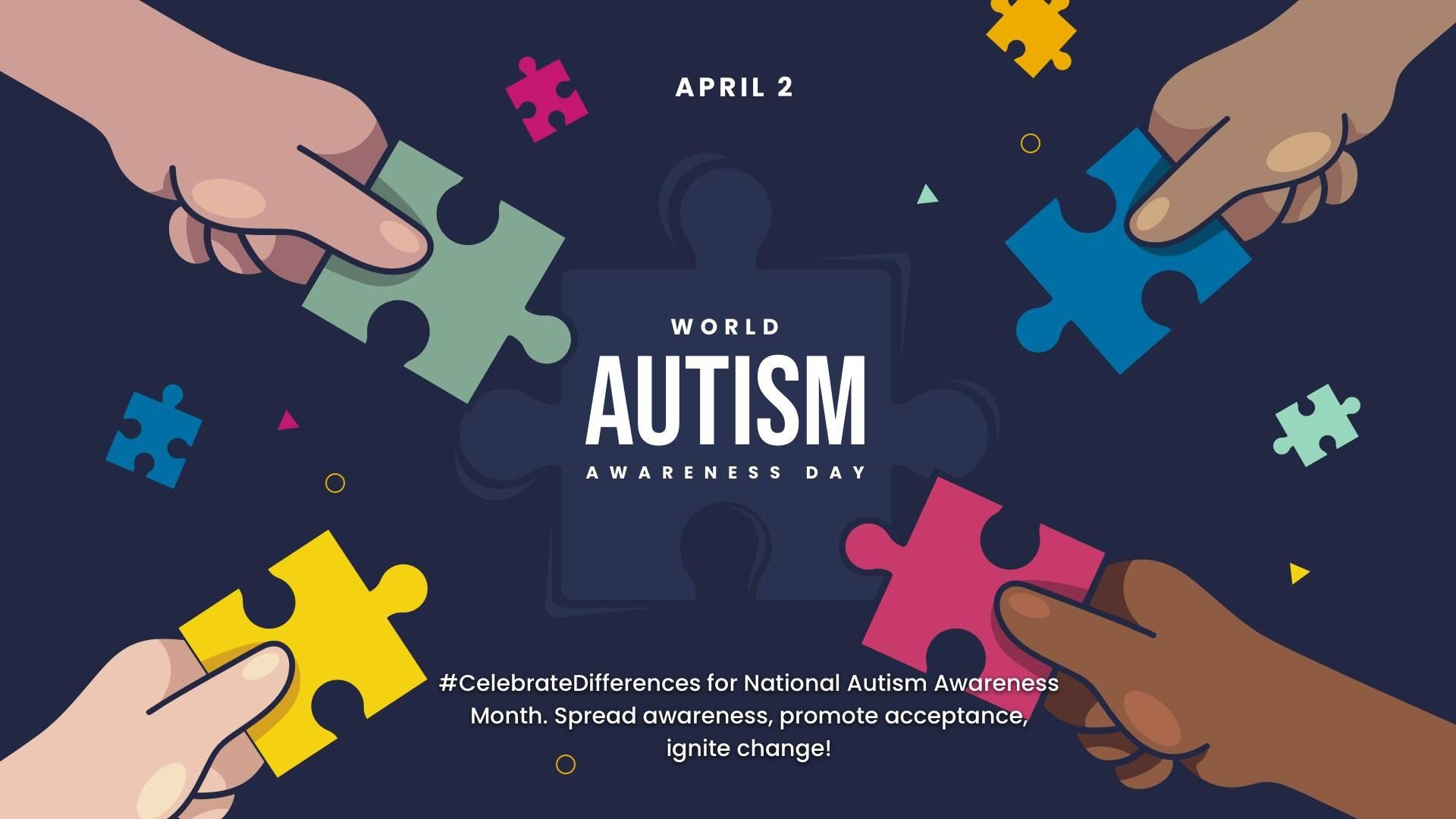 World Autism Awareness Day Digital Signage Template