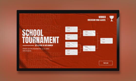 General Tournament Bracket