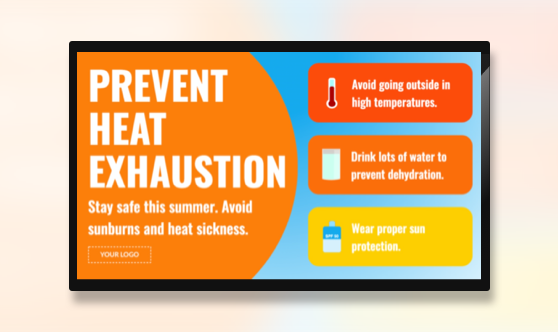 Campaign Heat Exhaustion Prevention