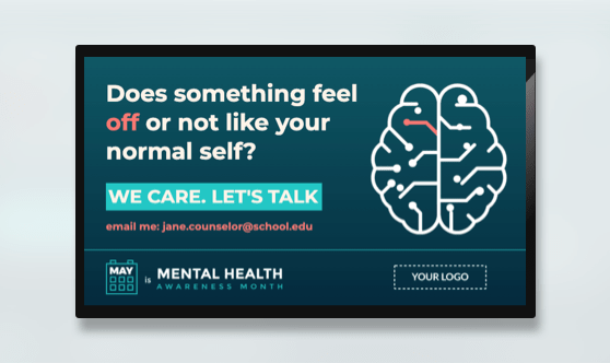 Campaign Mental Health Awareness Month