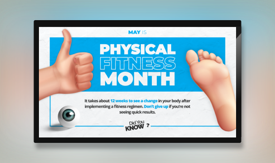 Physical Fitness Month