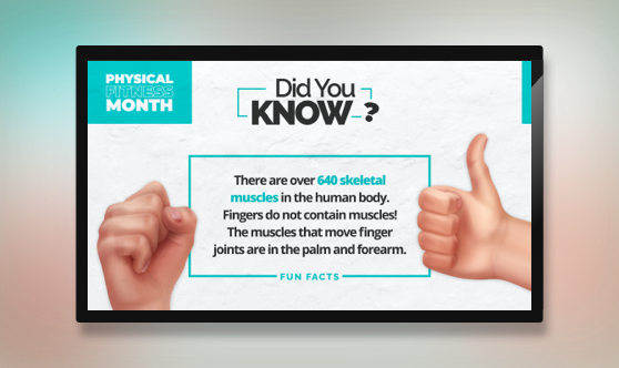 Fun Fact - Physical Fitness Month