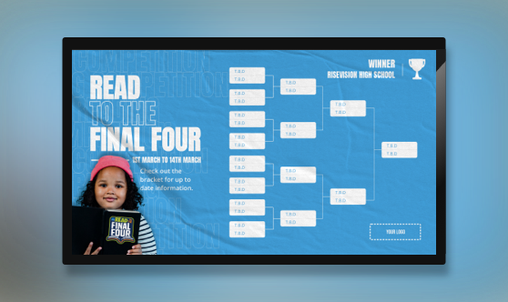 Read to The Final Four Bracket