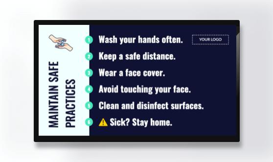 Campaign Safe Practices Text