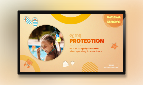 Sun Protection - National Safety Month