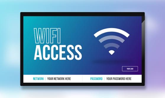Wifi Access - Network & Password