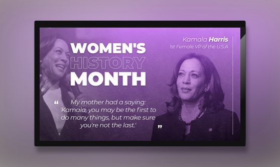 Women's History Month - Harris