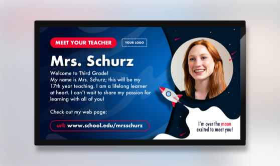Meet Your Teacher Distance Learning