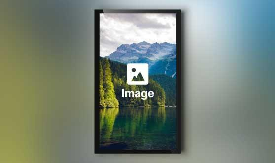 Full Screen Image Portrait