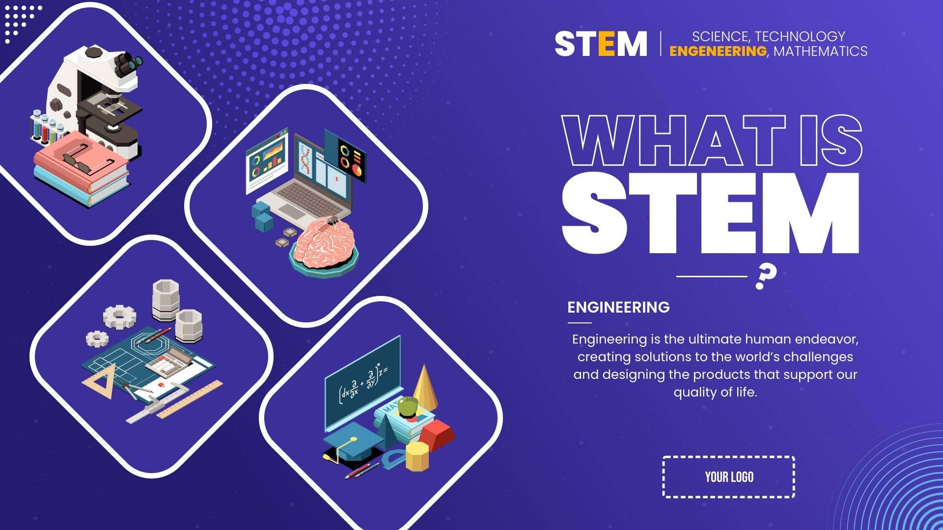 Solar Sytem - STEM Digital Signage Template