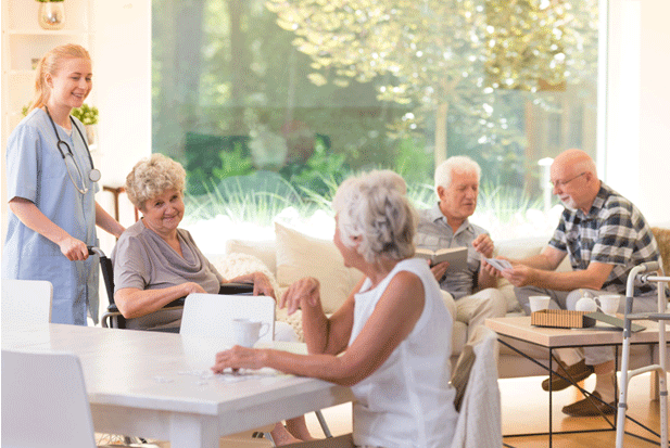 Retirement Community vs Assisted Living Facility | Rising Star Properties
