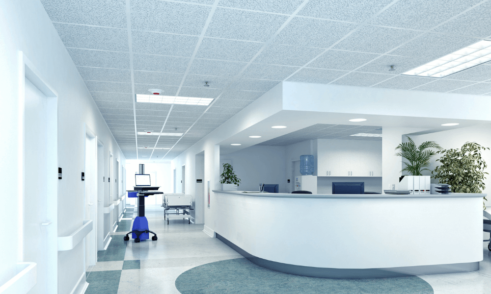 Nursing Station In The Middle Of A Hospital Floor | Rising Star Properties