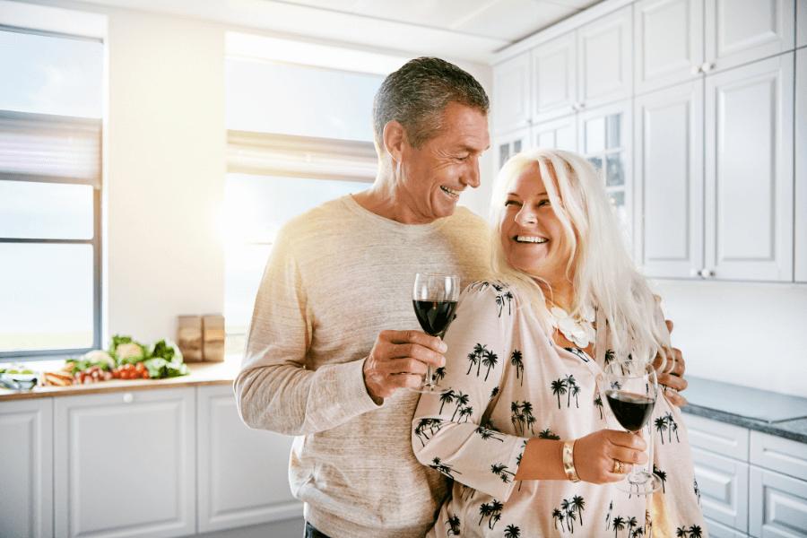 Elderly Couple Living Happily   Rising Star Properties
