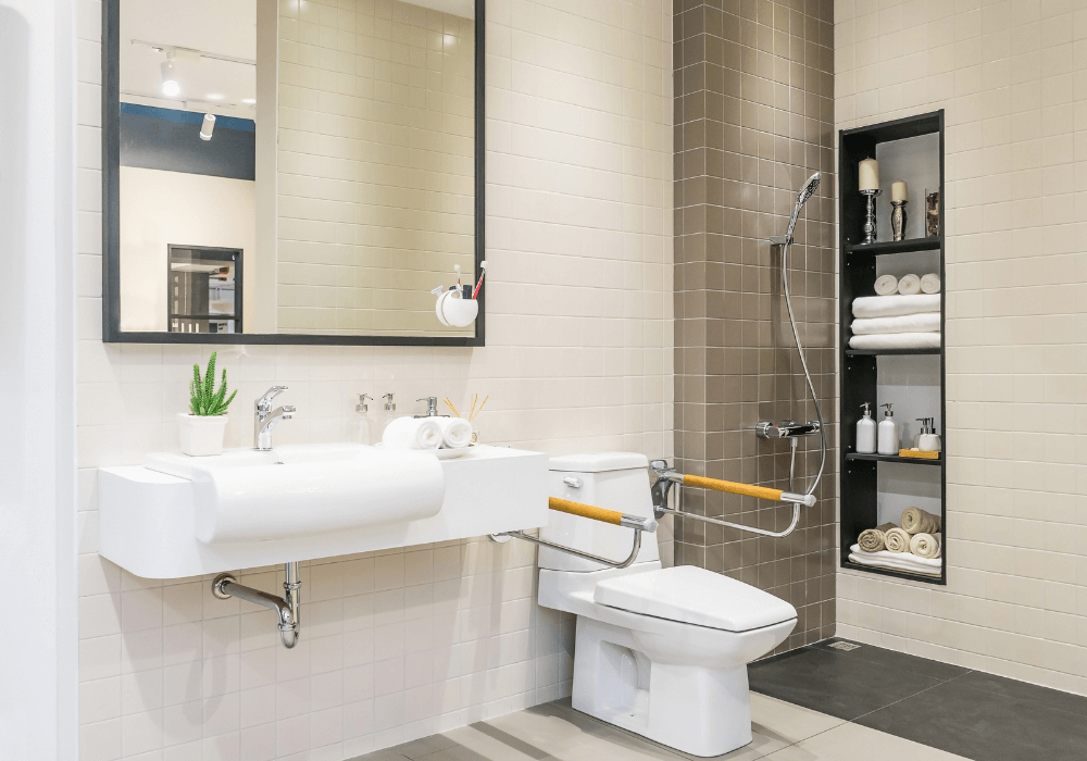 Transform the Bathroom into a Safe Haven   Rising Star Properties