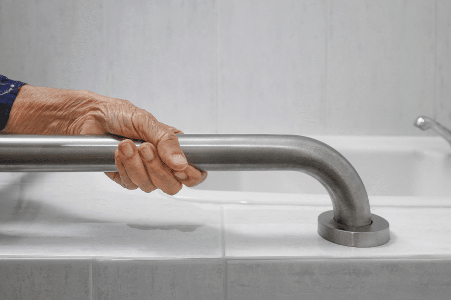 Grab Bars In Bathrooms For Elderly   Rising Star Properties