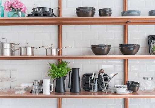 Open Shelves Senior Living Design | Rising Star Properties