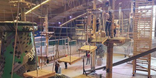 FunMania Aalsmeer indoor klimmen