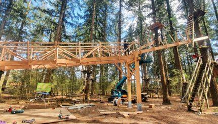 New access bridge Klimbos Garderen