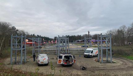 start bouw Fort Vertier Harderwijk