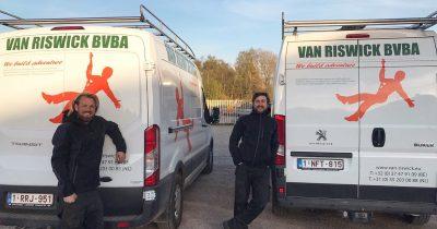 Team Van Riswick in Zweden
