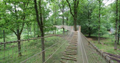ZigZagbrug Skånes Djurpark