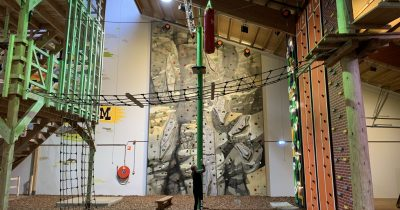 Adventure City Rotterdam klimwand climb-up en speed climbing