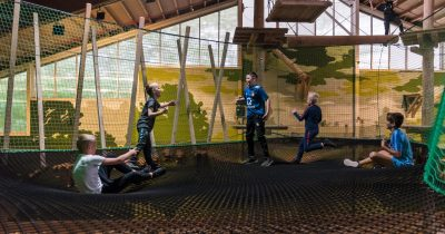 Net Adventure indoor Adventure City Rotterdam