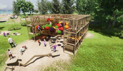 XXL Van Riswick Monkey Cage