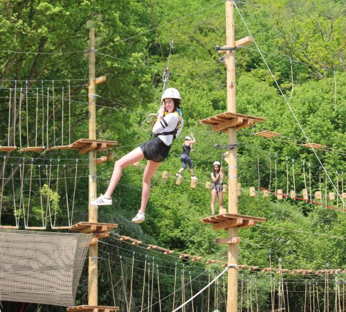 Adventure Valley Durbuy klimpark 1