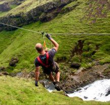 Zipline Iceland
