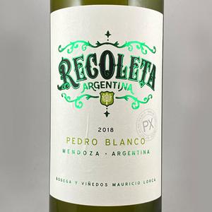 Recoleta Pedro Blanco