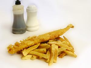 4-5oz Fish & Chips