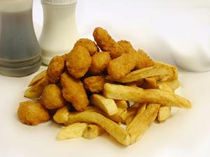 Scampi & Chips