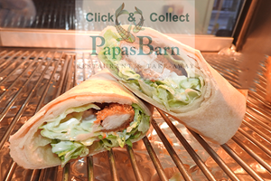 Fish/Chicken Wrap