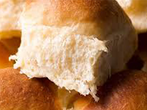 Bread Roll Buttered