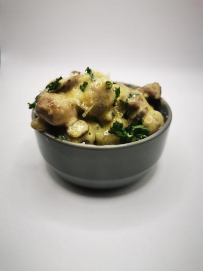 Garlic Mushrooms (v)
