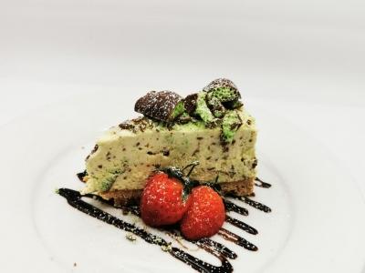 Aero mint cheese cake