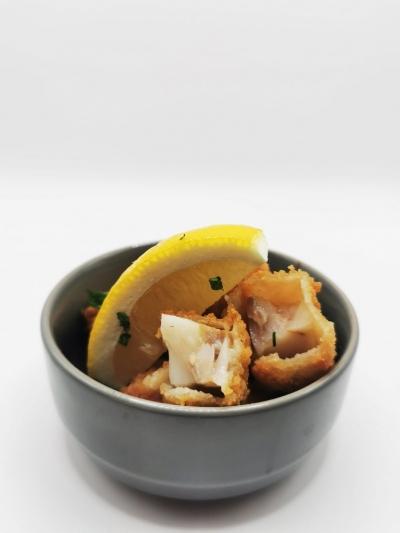 Fish Bites Served with homemade tartar sauce