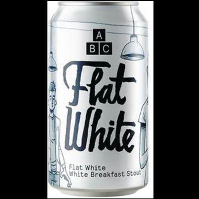 ABC Flat White Breakfast Stout 7.4% 330ml