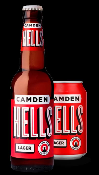 Camden Hells Lager 4.6% 330ml