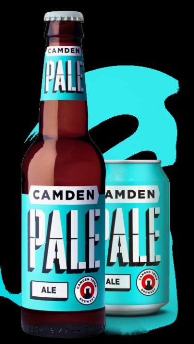 Camden Pale Ale 4.0% 330ml